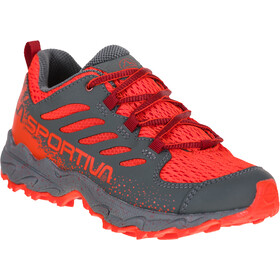La Sportiva Jynx Running Shoes Kids carbon/poppy